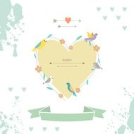 Happy valentines day and wedding card N2