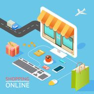 Concept of online shop N2