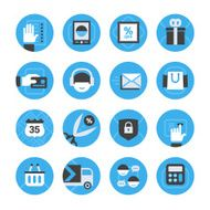E-commerce and Online Shopping Icons Set