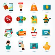 E-commerce Icons Set N7
