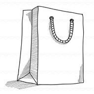 Sketch Shopping bag shopping N2