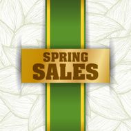 Spring Sale vector illustration eps 10 graphic