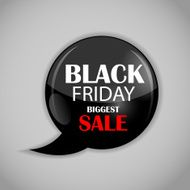 Black Friday Sale Icon Vector Illustration N9