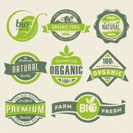 Organic Food Labels N6