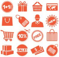 Shopping Sales - Icons Set
