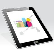 Tablet PC vertical online shopping