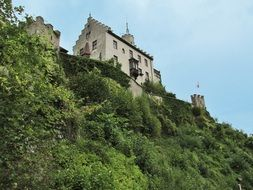 medieval castle in the Franconian Switzerland