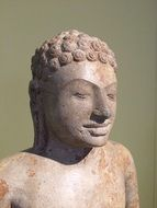 buddha statue in historical museum