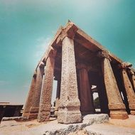 Ancient temple in Lepakshi