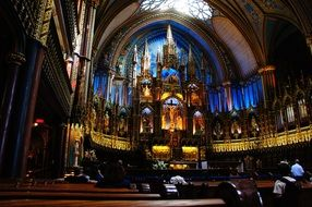 church notre dame montreal