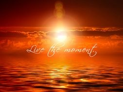 live the moment meditation buddhism