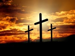 crosses is sign of christianity