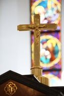 cross in Christian church