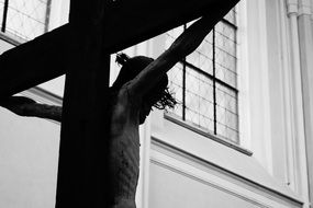 crucified jesus on the cross