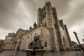 Photo of cathedral in Avila