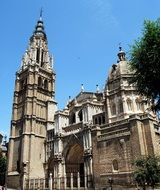 toledo cathedral in Spain