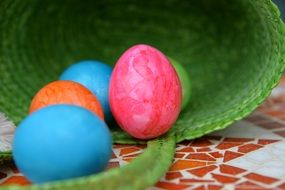 easter eggs colorful religion