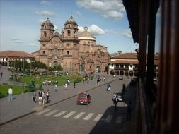 Photo of church in cusco