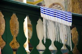 tallit synagogue jewish hebrew