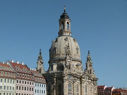 Dresden frauenkirche saxony church