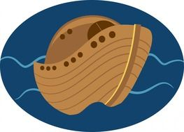 clipart of the noah s ark boat