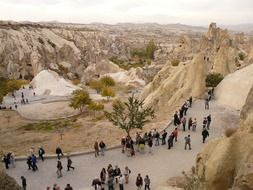 tourists in Goreme