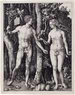 adam and eve religion drawing