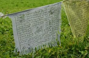 buddhism on prayer flags