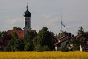picture of church in upper bavaria