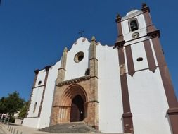 Silves-Algarve baroque church