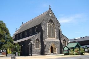 photo of the black church in williamstown