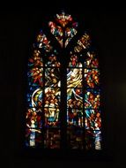 holy colorful church window