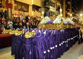 Holy Week Parade in Lorca