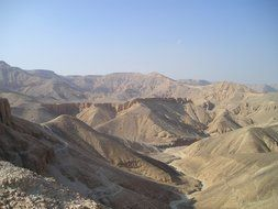 panorama of the Egyptian valley