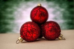 red christmas time decoration