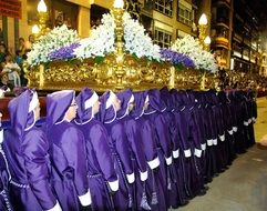 procession in Lorca