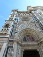 florence church low angle view