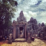 Siem reap temple in Cambodia