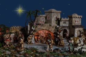 Christmas bethlehem crib Jesus birth