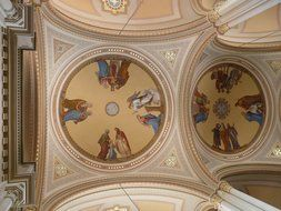 Church ceiling painting baroque