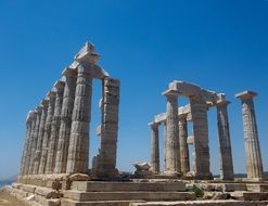 Cape Sounion in Greece