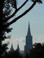 photo of the ulm cathedral in Munster