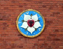 Lutheranism symbol on the wall
