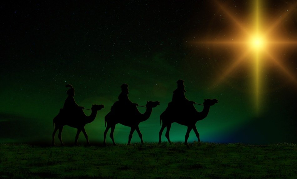 The Magi also referred to as the (Three) Wise Men or (Three) Kings