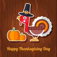 Happy Thanksgiving Day Greeting Card N2