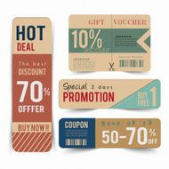 Tag price offer and promotion