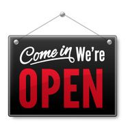 Come in We\'re open N2