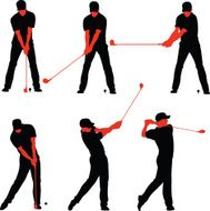 Golf Teeing Off Sequences