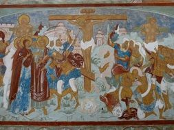 painting in the russian orthodox church