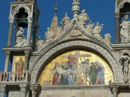 Church of the Basilica of San Marco in Venice